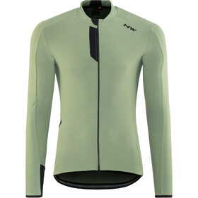 Northwave Fahrenheit Longsleeve Jersey Men greenforest blk